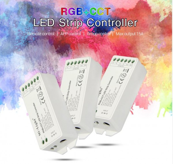 Synergy 21 LED Controller RGB-WW (RGB-CCT) DC12/24V Controller 4 Zonen *MiLight*