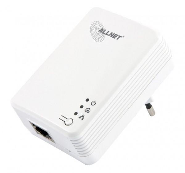 """ALLNET Schweiz Powerline 600Mbit 1er Bridge RJ45 ALL168610 HomePlugV2 """"SmartLink"""""""