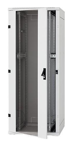 "Triton 19""Schrank 42HE, B800/T 800, Lichtgrau, bis 800Kg, *ohne Front-/Rücktüre*, RMA 800+-Serie,"