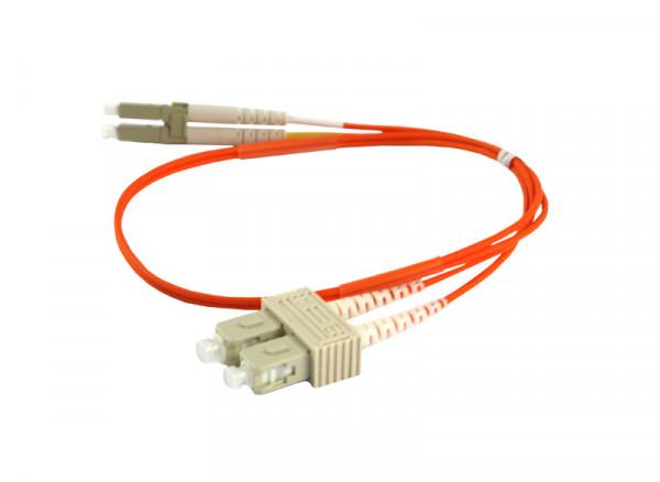 LWL-2-Faser-Patchk. 7.5mtr.LC-SC, 50/125um, OM2, AD=3mm, Synergy 21