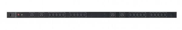 CyberPower PDU, BASIC, 230V/16A, 0HE, 20xC13+4xC19Ausgang, 1xC20 Eingang, Promo vom 10-30.6.2020, gültig nur im Dach(Deutschland,Österreich und Schwei