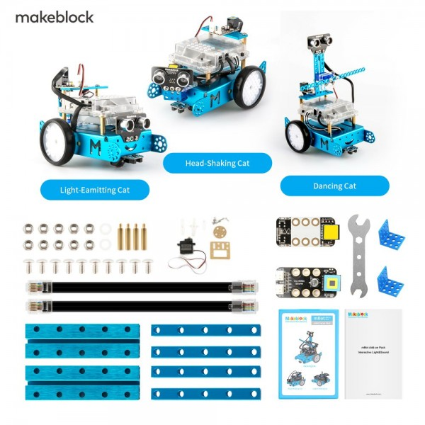 "Makeblock MINT Roboter Erweiterung 3-in-1 ""Servo Pack"" (Add-on Paket)"