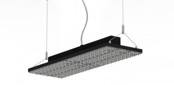 Synergy 21 LED RailLine Light plate Pendant1 DC90 nw DALI