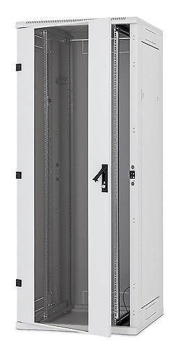 """Triton 19""""Schrank 37HE, B600/T1000, Lichtgrau, RTA-Serie, Belastung 1200kg erweiterbar bis auf 1500kg"""