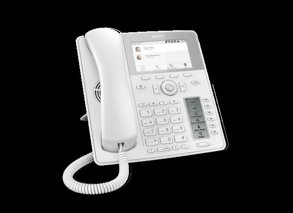 SNOM D785 VOIP Telefon Prof. (SIP), Gigabit Weiss