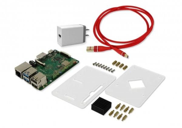 Rock Pi 4 Model B 1GB - Basic Performance Set