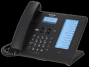 Panasonic KX-HDV230 Business SIP Terminal (schwarz)