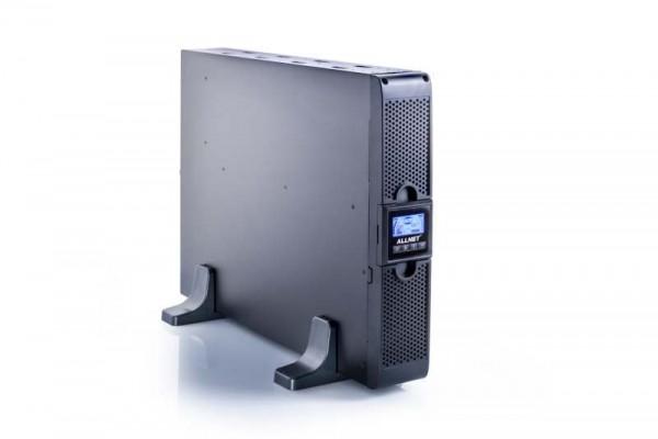"ALLNET USV 3000VA Line-Interactive, USB/RS232, LCD-Display, 19""/Tower,"