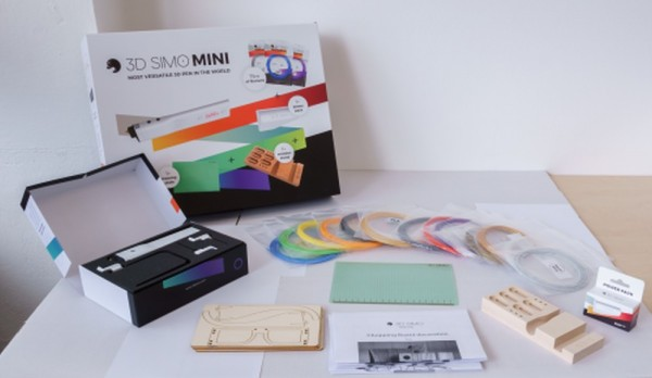 3Dsimo Big Creative Box inklusive 3Dsimo Mini 2
