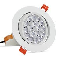 Synergy 21 LED Panel Rund 9W RGB-WW mit Funk und WLAN schwenkbar*Milight/Miboxer*