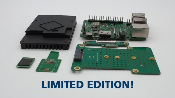 ROCK PI 4B 4GB v1.3+ Limited Edition Bundle (inklusive montierten 16MB SPI Flash) **Jetzt vorbestellen!**