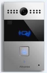 Akuvox R26C IP Door SIP Intercom with one Button (Video & Card reader)