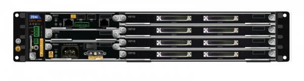 ZTE DSLAM ZXDSL 9806V Chassis AC *Super Vectoring 32 Port Bundle * Profil 35B