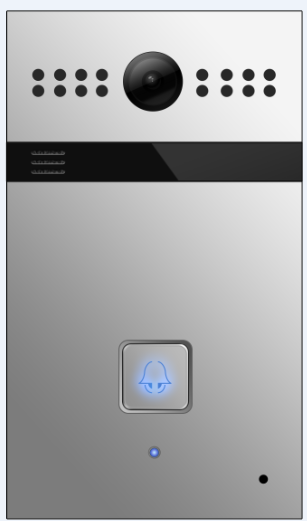 Akuvox TFE R26P IP Door SIP Intercom with one Button *FLUSH MOUNT*