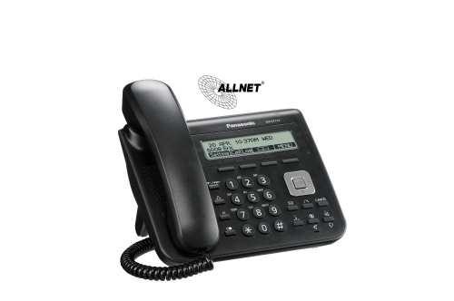 Panasonic SIP KX-UT 113 Standard Desk Phone Black