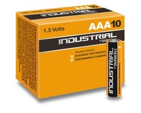 Batterien Micro AAA 1,5V *Duracell* Industrial - 10er Pack