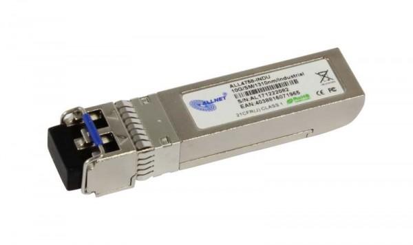 ALLNET Switch Modul ALL4758-INDU SFP+(Mini-GBIC), 10Gbit Singlemode, LR/LC, Industrial -40 -+85Grad,