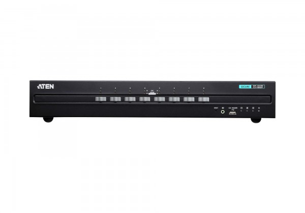 Aten KVM-Switch 8-fach Audio/DP(Displayport), USB, Secure,