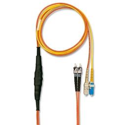 LWL-2-Faser-Patchk. 3mtr.Conditioning,SC 50u 2x->SC 50u 1x/SC 9u 1x