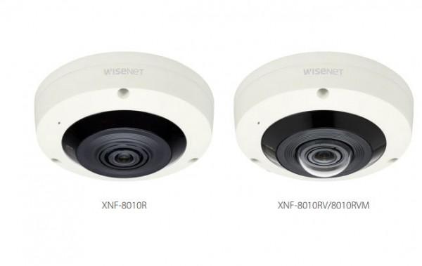 Hanwha Techwin IP-Cam Fixed Dome 360° XNF-8010RP