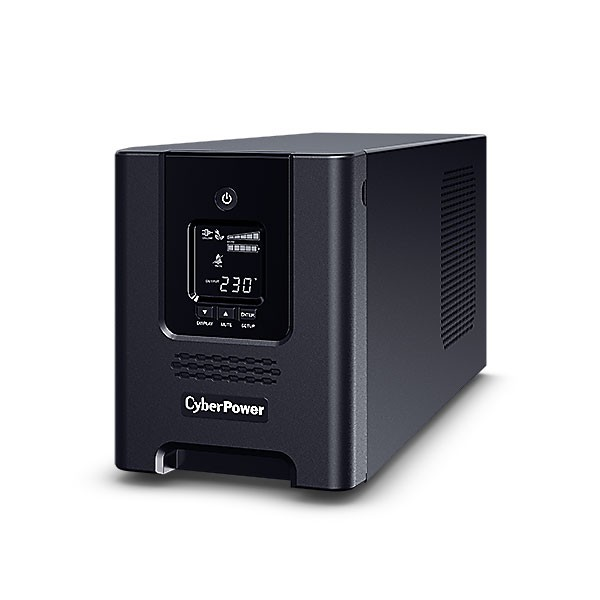 CyberPower USV, PR Tower-Serie, 2200VA/1980W, Line-Interactive, reiner Sinus, LCD, USB/RS232, ext.Runtime,