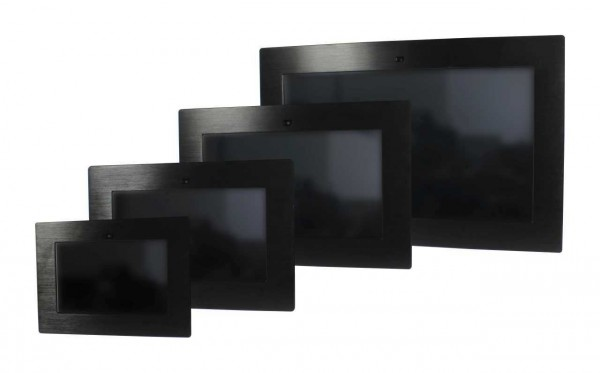 ALLNET Touch Display Tablet 14 Zoll zbh. zbh. Einbauset Einbaurahmen + Blende black